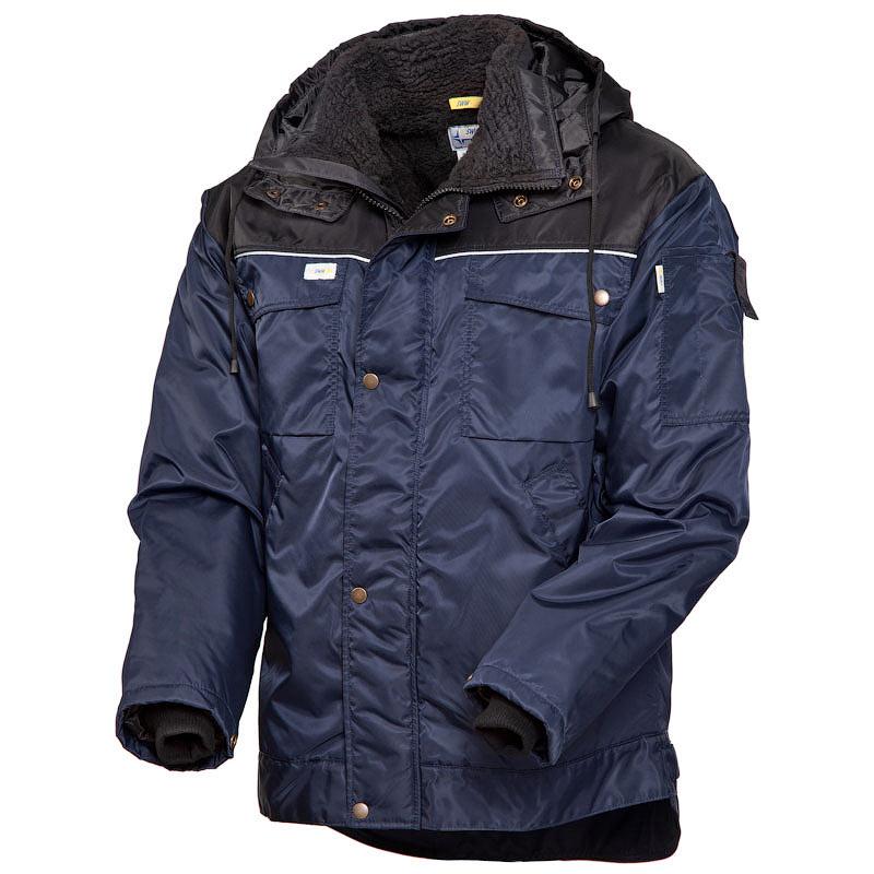 Зимняя куртка 419-PP-15/90 скандинавского качества на подкладке из искусственного меха с удлиненной спинкой в интернет-магазине sww.com.ru