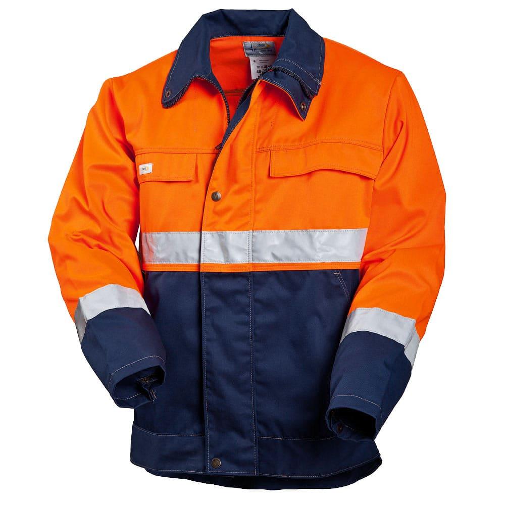 Летняя куртка  дорожника 4391-NEON-77/15 из смесовой ткани в интернет-магазине sww.com.ru
