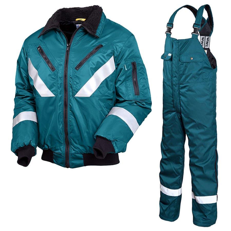 Зимний костюм 442R-42BR-TWILL-61 из смесовой ткани в интернет-магазине sww.com.ru