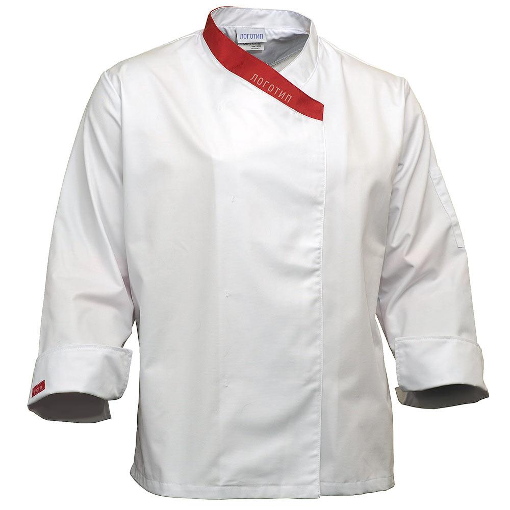 Китель повара женский белый FJ6830-TEREDO-00/82 в интернет-магазине sww.com.ru