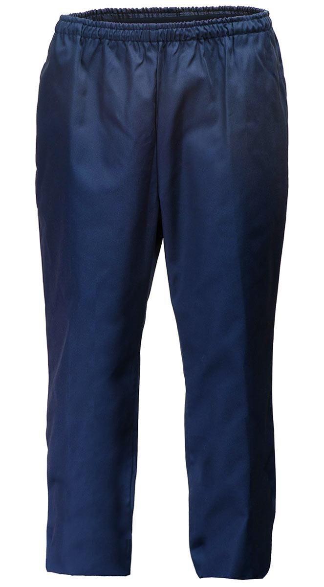 Брюки летние женские темно-синие на резинке FT8010-P154-15 в интернет-магазине sww.com.ru