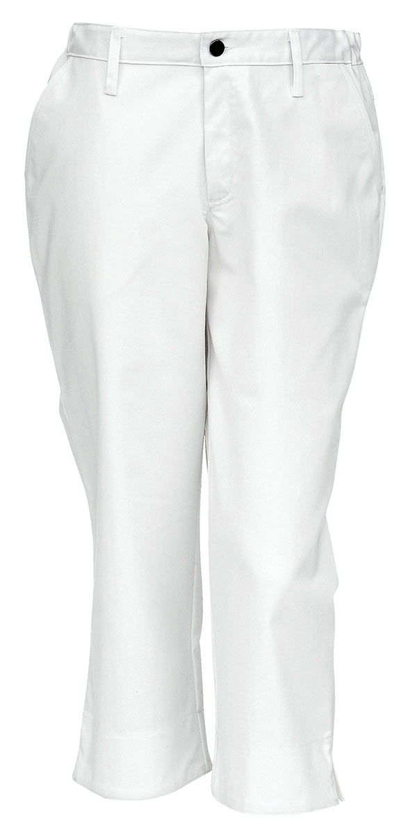 Бриджи белые Imagewear 1K016-537-001 из полусинтетической ткани с эластаном в интернет-магазине sww.com.ru