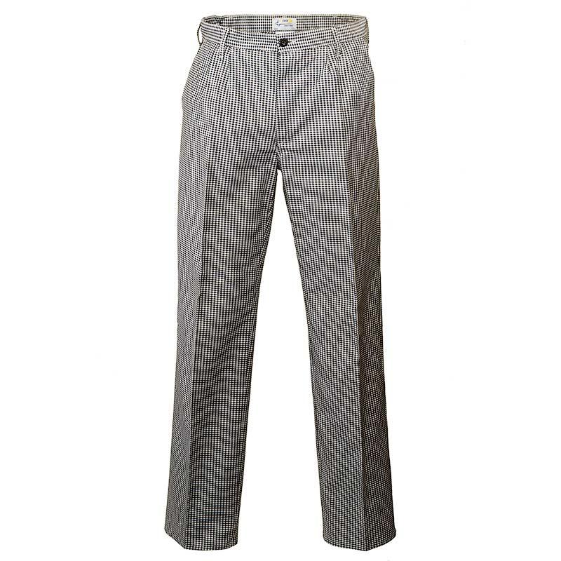 Летние брюки 281T-P159-50 из смесовой ткани в интернет-магазине sww.com.ru