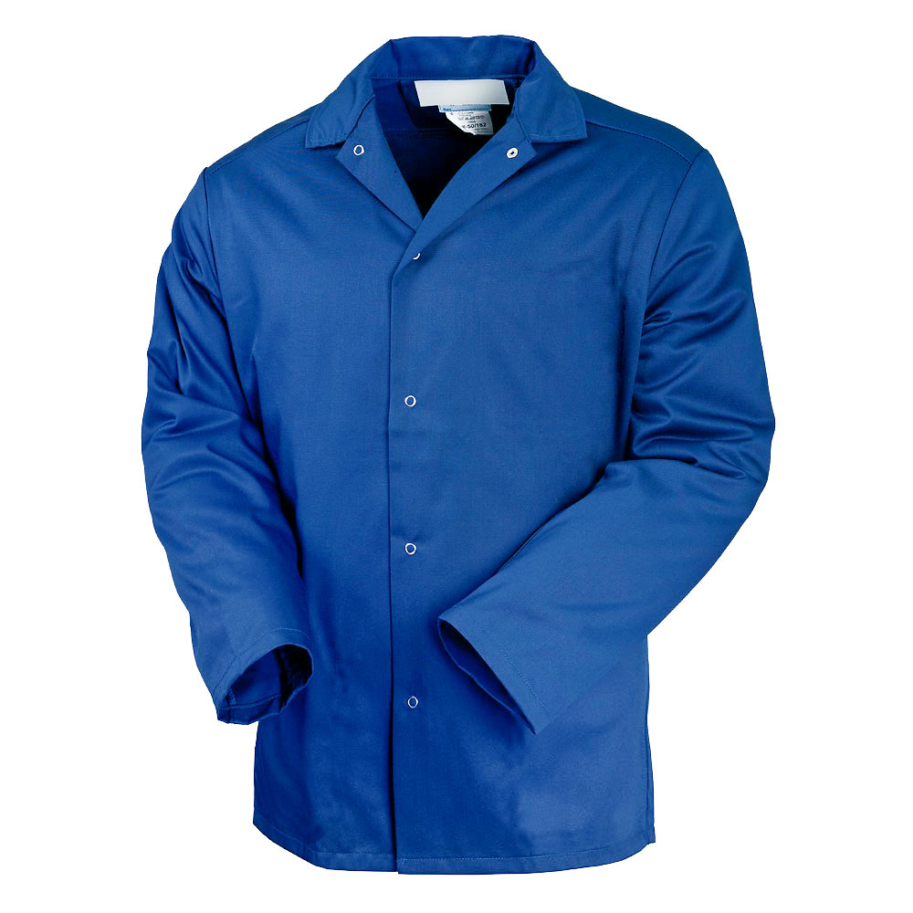 Куртка унисекс рабочая летняя синяя 314-TOMBOY-13 из износостойкой полусинтетики