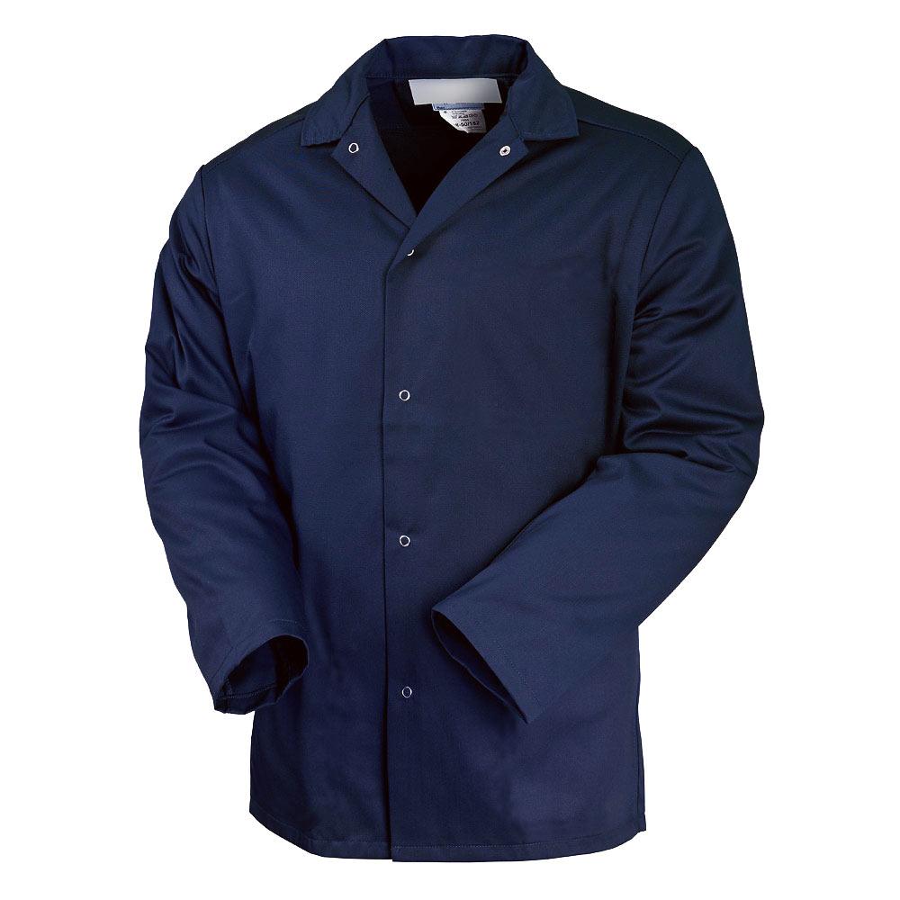 Куртка унисекс рабочая летняя темно-синяя 314-TOMBOY-15 из износостойкой полусинтетики
