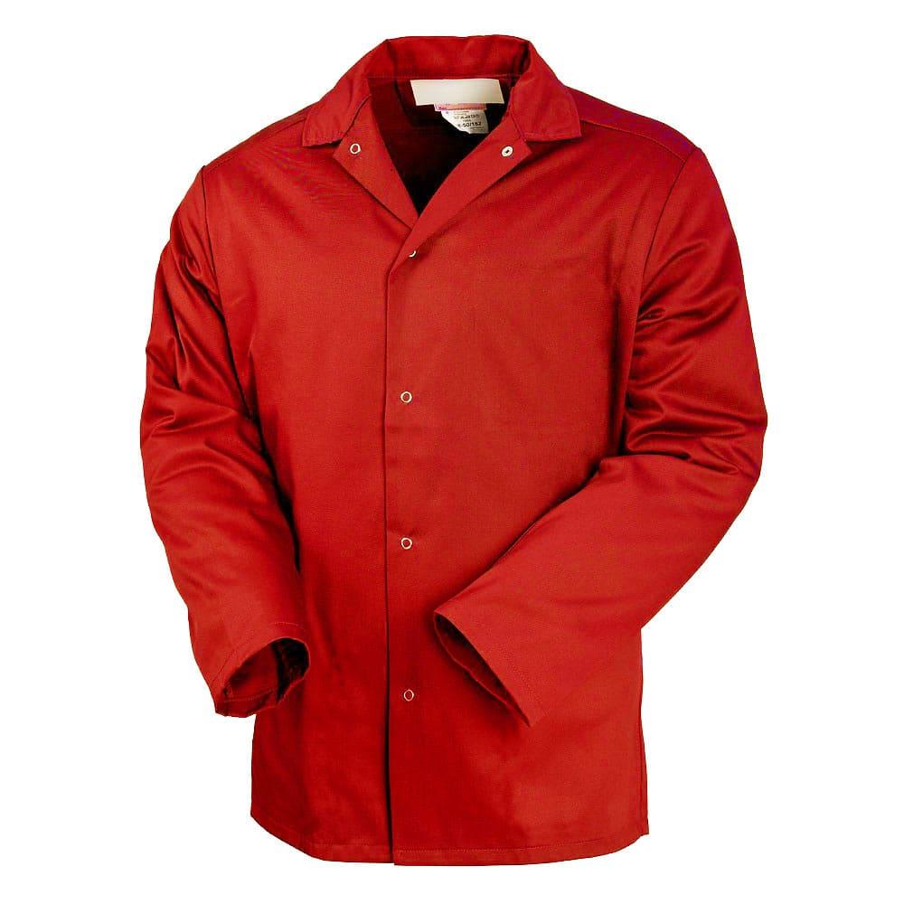 Куртка унисекс рабочая летняя красная 314-TOMBOY-80 из износостойкой полусинтетики