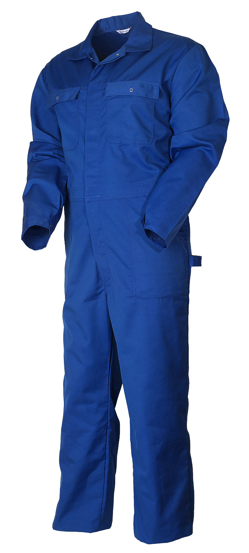 Рабочий летний мужской комбинезон 8013-565-775 из износостойкой смесовой ткани в интернет-магазине sww.com.ru