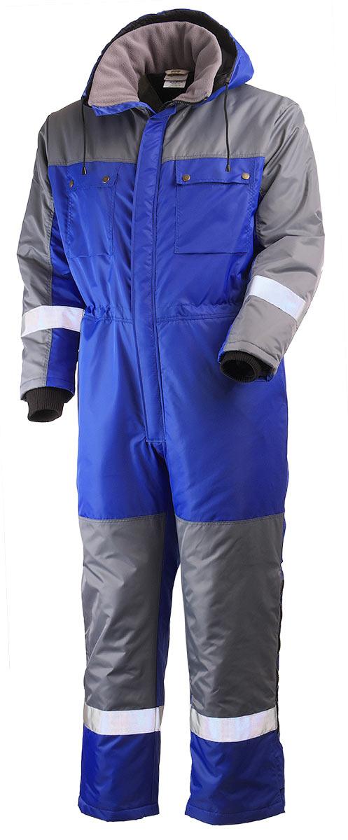 Зимний комбинезон двухцветный мужской 888N-TWILL-16/58 на стеганой подкладке в интернет-магазине sww.com.ru