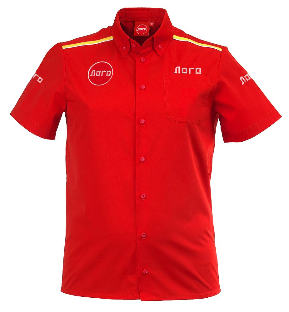 Классическая красная мужская рубашка с короткими рукавами 119 в интернет-магазине sww.com.ru