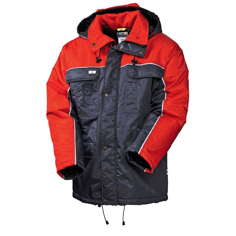 Рабочая зимняя куртка с удлиненной спинкой (парка) 4398TD-TASLAN-55/80 на стеганой подкладке в интернет-магазине sww.com.ru
