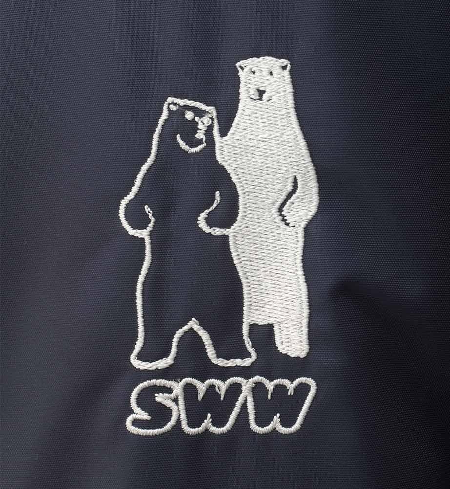 Зимний комбинезон 888R-TWILL FT-15 на стеганой подкладке в интернет-магазине sww.com.ru вышивка на рукаве