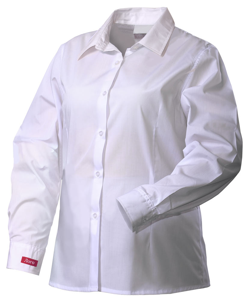 Рубашка женская белая FB8510-TRENDLITE-00