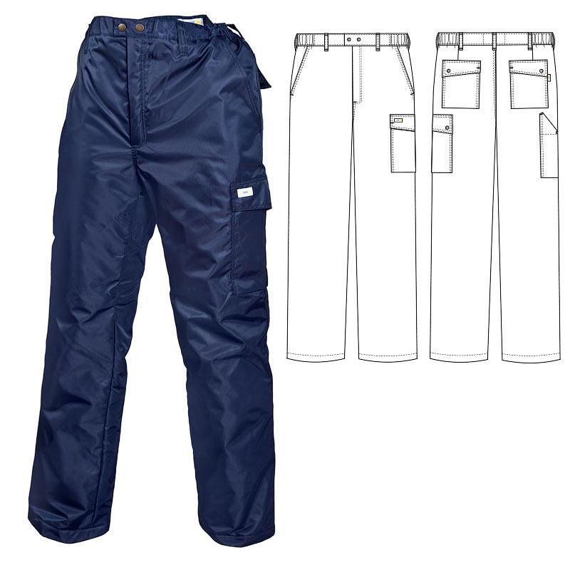Зимние брюки 207T1-PP-15 на стеганой подкладке в интернет-магазине sww.com.ru