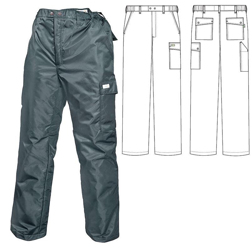 Зимние брюки 207T1-TASLAN-51 на стеганой подкладке в интернет-магазине sww.com.ru