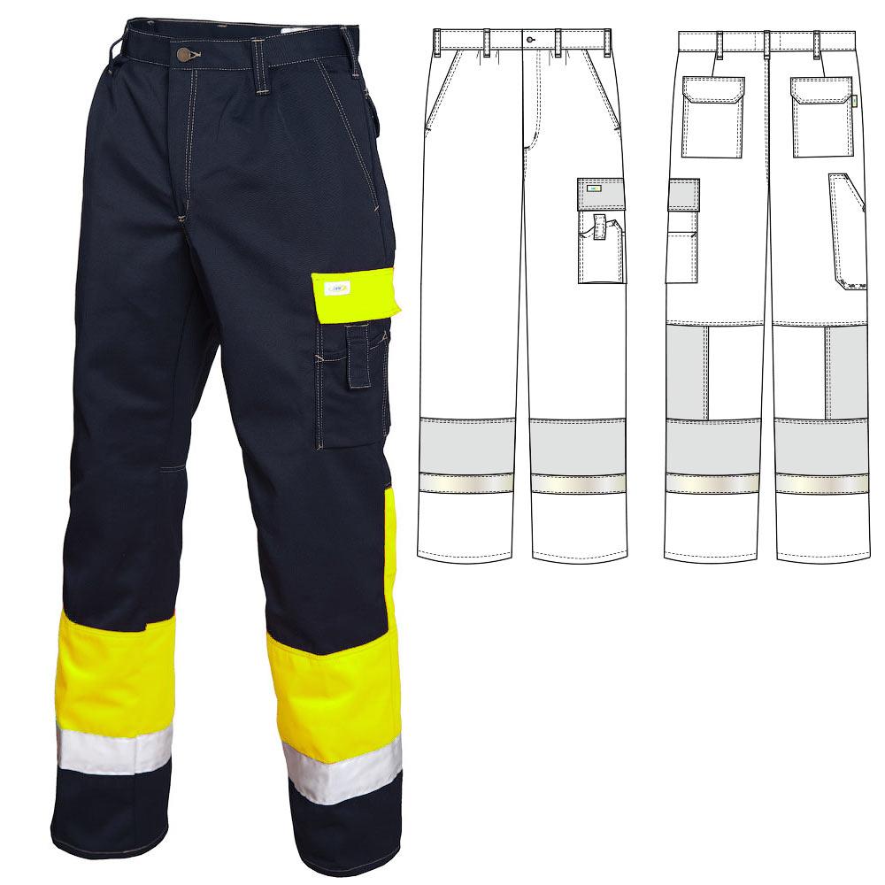 Летние брюки 2131-P154-15/71 из смесовой ткани в интернет-магазине sww.com.ru
