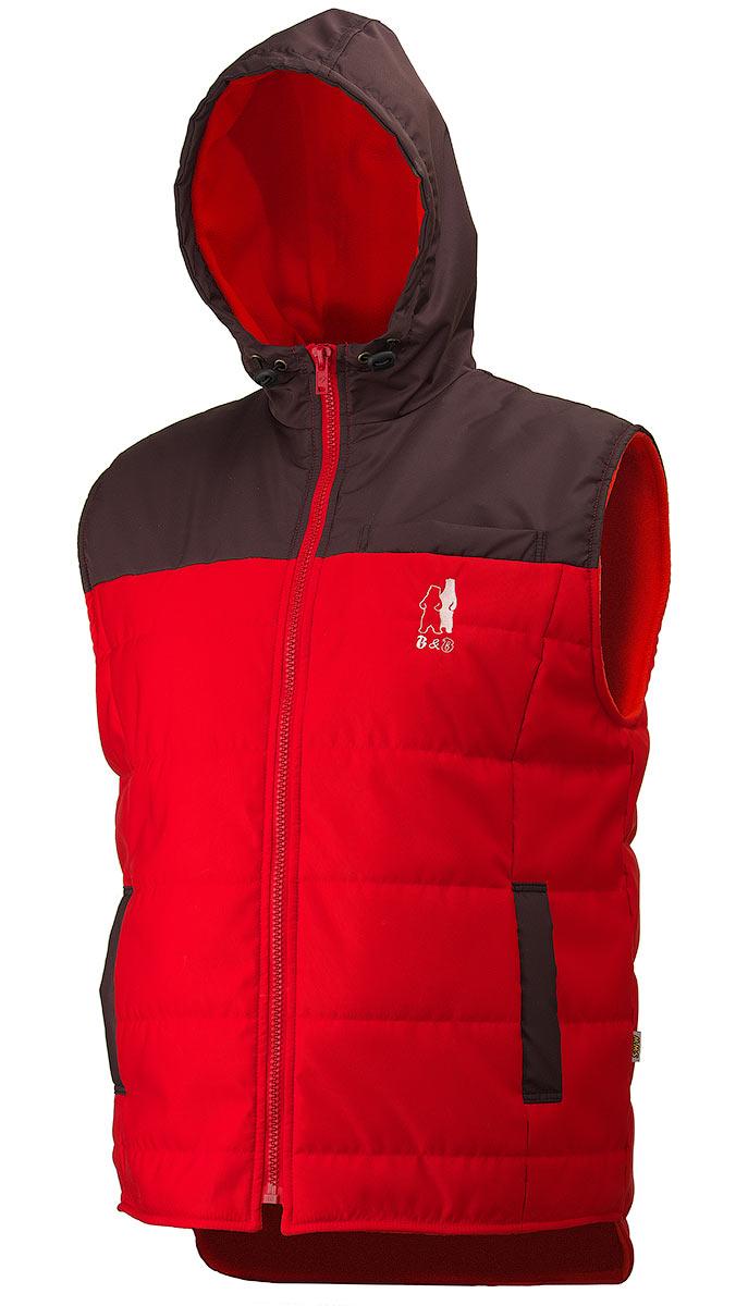 Утепленный жилет с капюшоном 791K-TASLAN-81/90 в интернет-магазине sww.com.ru