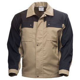 Куртка рабочая летняя мужская двухцветная 374K-P•154-6/90 из смесовой ткани в интернет-магазине sww.com.ru, вид спереди