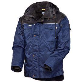 Зимняя куртка рабочая мужская 419C-TASLAN-14/90 на подкладке из искусственного меха с удлиненной спинкой в интернет-магазине sww.com.ru