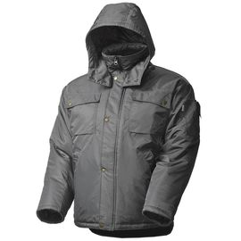 Зимняя куртка мужская рабочая 428•C-TWILL-55 на стеганой подкладке с удлиненной спинкой в интернет-магазине sww.com.ru