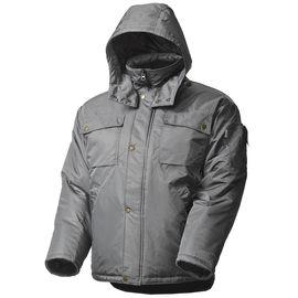 Зимняя куртка большого размера мужская рабочая 428•CBIG-TWILL-58 на стеганой подкладке с удлиненной спинкой в интернет-магазине sww.com.ru