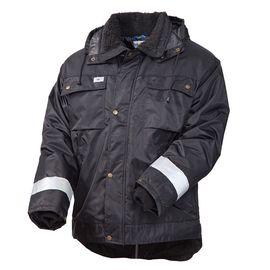 Зимняя куртка рабочая мужская 428NCR-TWILL-90/90 на стеганой подкладке с удлиненной спинкой в интернет-магазине sww.com.ru
