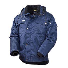 Зимняя куртка рабочая мужская 428T-TWILL-15 на подкладке из искусственного меха с удлиненной спинкой в интернет-магазине sww.com.ru