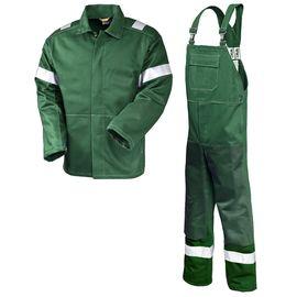 Летний костюм сварщика 491NR-91KR-FLAM-22/24 из хлопка (400 г/кв.м) с огнестойкой пропиткой в интернет-магазине sww.com.ru