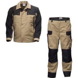 Летний костюм 374K-250K-P154-6/90 из смесовой ткани в интернет-магазине sww.com.ru