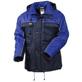 Рабочая зимняя куртка с удлиненной спинкой (парка) 4398T-TWILL-15/16 на стеганой подкладке в интернет-магазине sww.com.ru