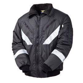 Зимняя куртка  укороченная (пилот) 442R-TWILL-90 на стеганой подкладке со световозвращающими лентами  в интернет-магазине sww.com.ru