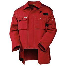 Летняя куртка  450T-FAS-83 из хлопка FAS (360 г/кв. м)  с отстегивающимися рукавами и отлетными карманами в интернет-магазине sww.com.ru Вид спереди