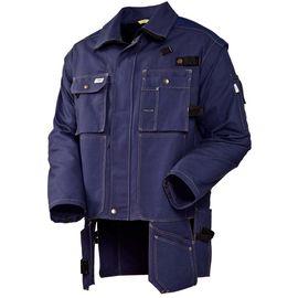 Летняя куртка  450T-FAS-14 из хлопка FAS (360 г/кв. м)  с отстегивающимися рукавами  и отлетными карманами в интернет-магазине sww.com.ru