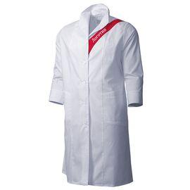 Халат женский белый 112S-TRENDLITE-00/81 из износостойкой полусинтетики