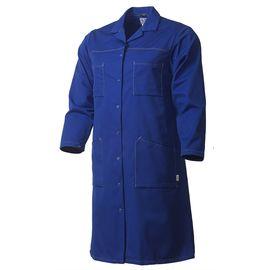 Халат женский синий 163-PR54-18 из износостойкой полусинтетики