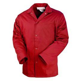 Куртка унисекс рабочая летняя темно-красная 314-TOMBOY-81 из износостойкой полусинтетики