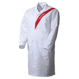 Халат женский белый UJ6840-P159-00/81 из износостойкой полусинтетики