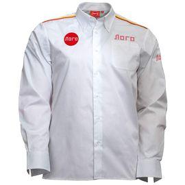 Классическая белая мужская рубашка с длинными рукавами 111 в интернет-магазине sww.com.ru