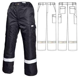 Зимние брюки 207R-TWILL-90 на стеганой подкладке с широкой световозвращающей полосой ниже колена в интернет-магазине sww.com.ru