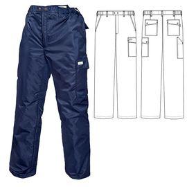 Зимние брюки 207T1-TASLAN-14 на стеганой подкладке в интернет-магазине sww.com.ru