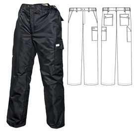 Зимние брюки 207T1-TWILL-90 на стеганой подкладке в интернет-магазине sww.com.ru