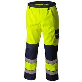Брюки рабочие летние мужские сигнальные жёлто-синие 2131N-P154-71/15 для дорожных рабочихв интернет-магазине sww.com.ru